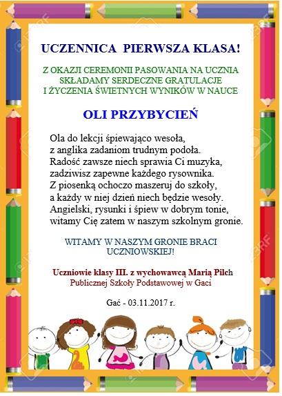Szkoła Podstawowa Imienia Włodzimierza Lubańskiego W Gaci
